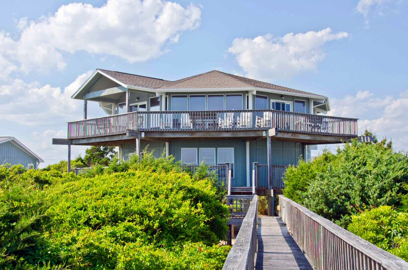 Crystal Coast Rentals Emerald Isle Rentals Viewpoint 6 Bedroom Oceanfront House
